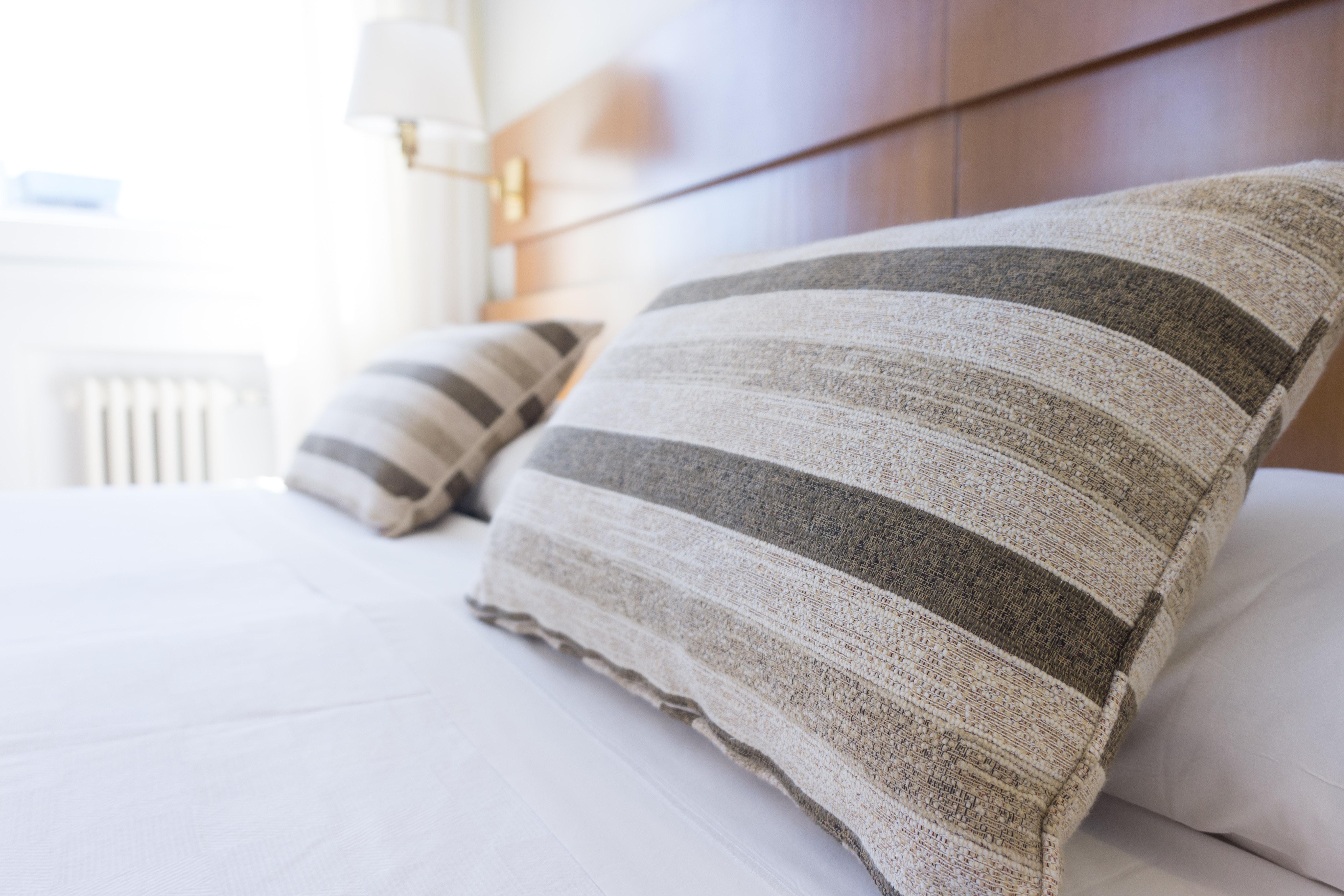 Dettaglio di una stanza di hotel