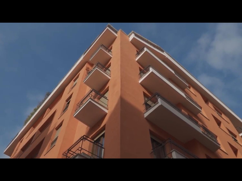 L'immobile di via novelli a Roma
