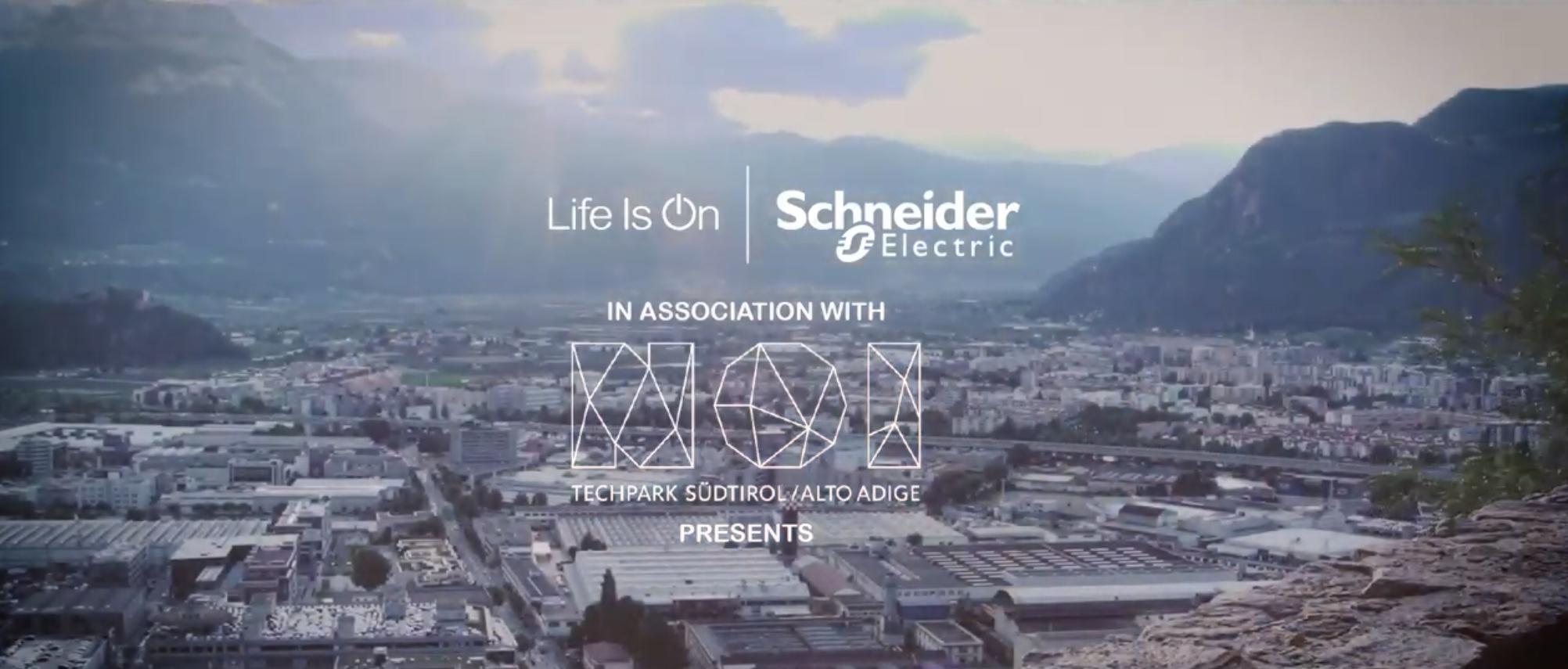 Copertina video Schneider Electric @ NOI Techpark Bolzano